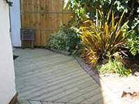 A selection of small decking jobs